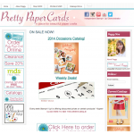ON SALE NOW! - Pretty Paper Cards