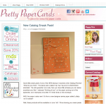 Pretty Paper Cards - Peggy Noe Independent Stampin' Up! Demonstrator